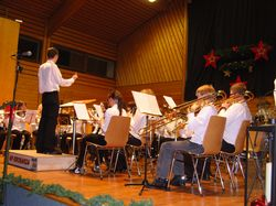 Youngsters des Musikvereins Bochingen am Konzert